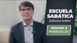 Miércoles 18 de agosto   Escuela Sabática Pr. Ranieri Sales