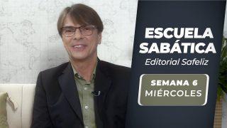 Miércoles 4 de agosto   Escuela Sabática Pr. Ranieri Sales