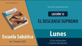 Escuela Sabática | Lunes 20 de septiembre del 2021 | Cuenta regresiva | Lección Adultos