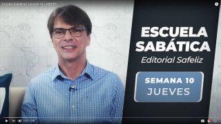 Jueves 2 de septiembre   Escuela Sabática Pr. Ranieri Sales