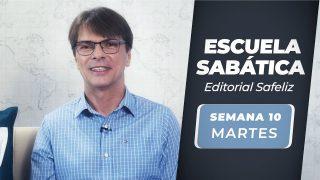 Martes 31 de agosto   Escuela Sabática Pr. Ranieri Sales