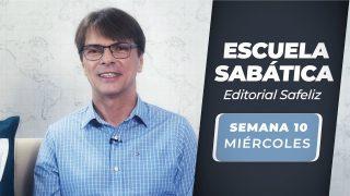 Miércoles 1 de septiembre   Escuela Sabática Pr. Ranieri Sales