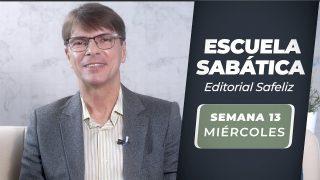 Miércoles 22 de septiembre | Escuela Sabática Pr. Ranieri Sales