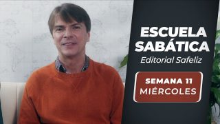 Miércoles 8 de septiembre | Escuela Sabática Pr. Ranieri Sales