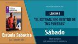 Escuela Sabática | Sábado 23 de octubre del 2021 | Estudio de esta semana | Lección Adultos